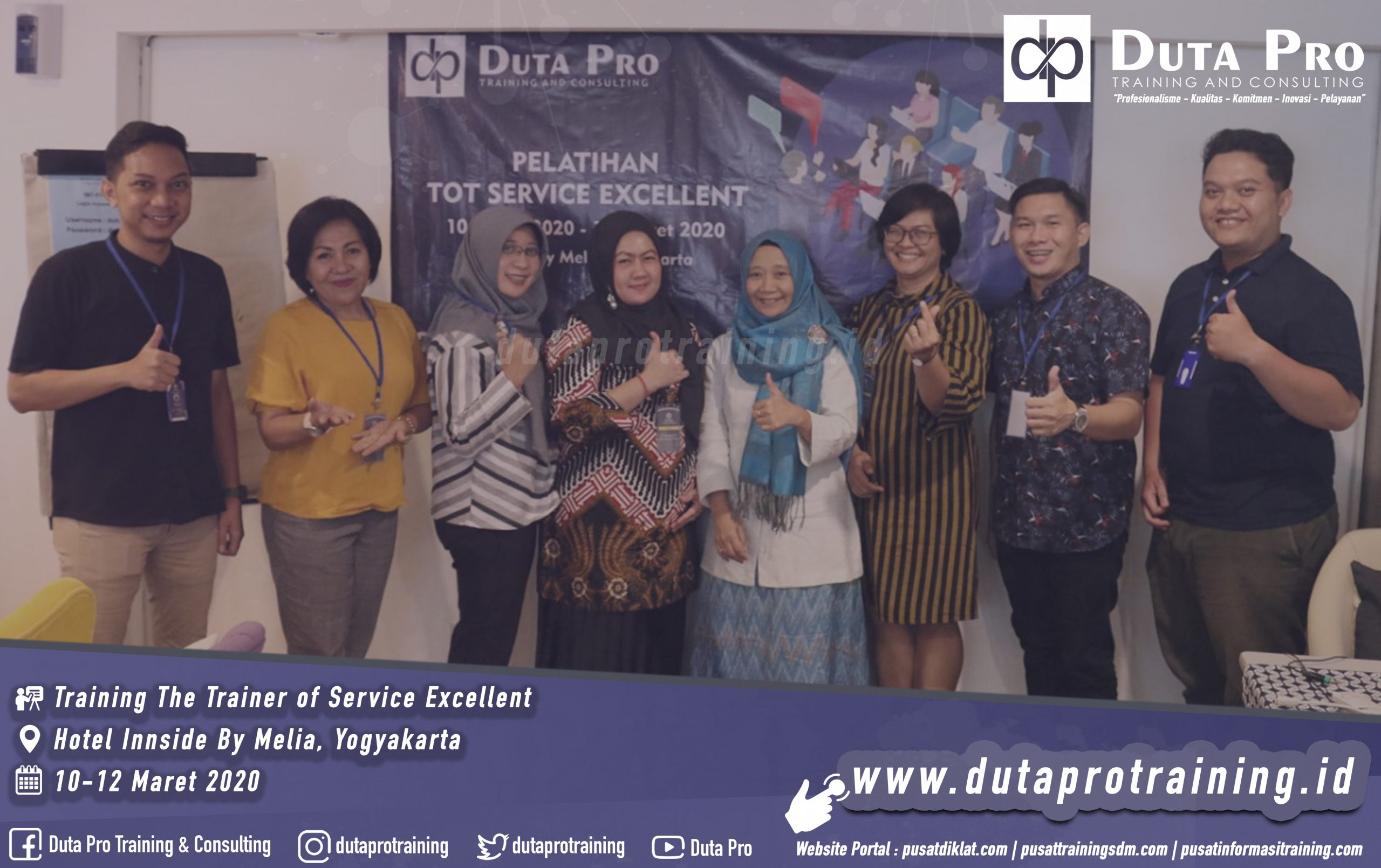 Training The Trainer of Service Excellent Hotel Innside By Melia jogja
